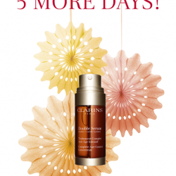 [Clarins] Counting down 5 days to Great Singapore Sale 2017: Clarins Beauty Festival!