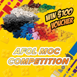 [Bricks World (LEGO Exclusive)] Bricks World Members AFOL MOC CompetitionShow off your LEGO® building talents at our LEGO® Certified Stores and stand a