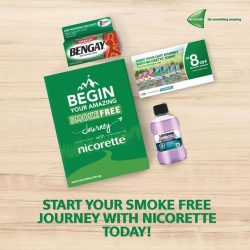 [Watsons Singapore] Begin your smoke-free journey with Nicorette today!