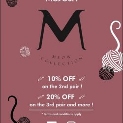 [MUJOSH] Mujosh Meow Collection Promotion10% Off on the 2nd pair!