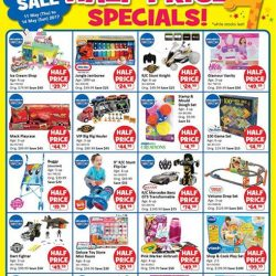 """[Babies'R'Us] Toys""""R""""Us Islandwide Half Price Specials Available from Thursday 11 May to Sunday 14 May!"""