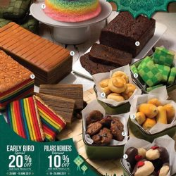 [Polar Puffs & Cakes Singapore] Hari Raya is less than a month away!
