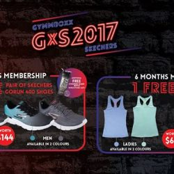 [GYMM BOXX Silver] Stay Tuned for GYMMBOXX's Great Singapore Sales!