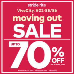 [Stride Rite/Petit Bateau] Stride Rite VIVOCITY Moving-Out CLEARANCE SALE!