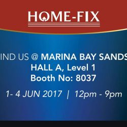 [Home-Fix Singapore] Join us at PC SHOW 2017 between 1 - 4 June to enjoy great deals & discounts from popular brands such as