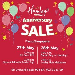 [Hamleys of London] Join us this Saturday for Hamleys Anniversary sale, up to 70% OFF!
