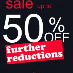 [Domanchi] Sale up to 50% discount for Mens wear only at our Bugis Junction outlet.