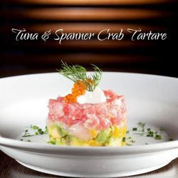 [Wooloomooloo Steak House] Presenting our beautifully fresh and vibrant Tuna & Spanner Crab Tartare, the ideal springtime dish!