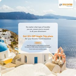 [NTUC Income Insurance] One of the best things about travelling is that it takes you out of your comfort zone, bringing out a
