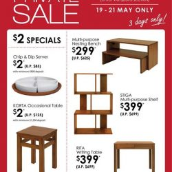 [Isetan] Don't miss these special offers at Scanteak this Private Sale!