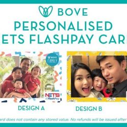 [Spring Maternity] From the 12th-31st May 2017, Bove will be partnering up with NETS FlashPay to give members an opportunity to