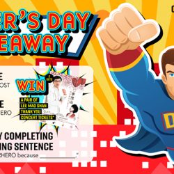 [ASA Holidays] Here's your chance to reward your superhero this FathersDay!