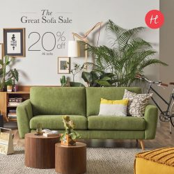 [HomesToLife] Take a leaf out of Mother Nature's grandeur with Summer Breeze, a full-cotton, all-natural fibre sofa that