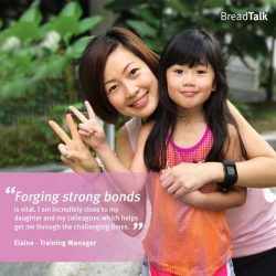 [BreadTalk® Singapore] In the run up to Mother's Day, we asked some of the moms at BreadTalk to share their secret