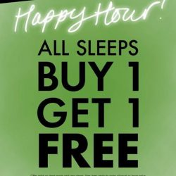 [La Senza Singapore] The Happiest Hours of your day!