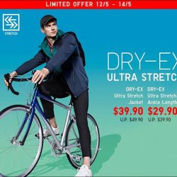 [Uniqlo Singapore] Get ready for your weekend workout!