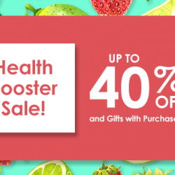 Guardian: Health Booster Sale with up to 40% OFF on vitamins and supplements!