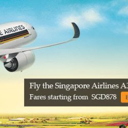 Singapore Airlines: Fly to Europe on A350 with Special Fares from S$878