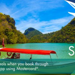 SilkAir: Enjoy special Mastercard® deals from SGD 129 when you book via the SilkAir Mobile App!
