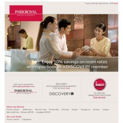 [Hotels.com] Enjoy 10% savings on room rates when you book as a DISCOVERY member