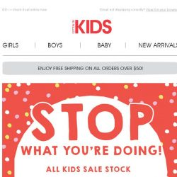[Cotton On] STOP: all SALE stock is $20 and UNDER!