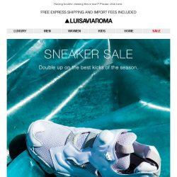 [LUISAVIAROMA] A fresh new pair… Up to 50% off
