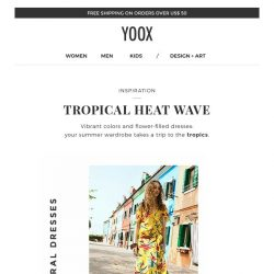 [Yoox] Inspiration: tropical summer, what to wear