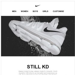 [Nike] Still KD: Introducing the KDX