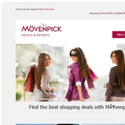 [Mövenpick Hotels & Resorts] Shopping Destinations: Where will you go?