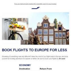 [Finnair] Special offers to Europe – Amsterdam from 950 SGD
