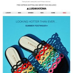 [LUISAVIAROMA] The Best Shoes of the Summer…