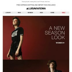 [LUISAVIAROMA] New Season Now: The latest from FW17
