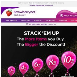 [StrawberryNet] , Only 2 Days Left to Get Up to 10% Off!