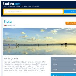 [Booking.com] Deals in Kuta from S$ 11 for your dates