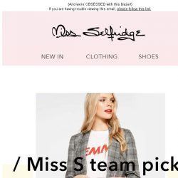 [Miss Selfridge] Editor's picks: This week's hottest buys