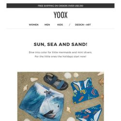 [Yoox] Kids: off to the beach!