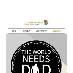 [Floweradvisor] [FATHER'S DAY] Things You Should do with Dad
