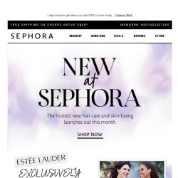 [Sephora] Time for some brand new beauty buys