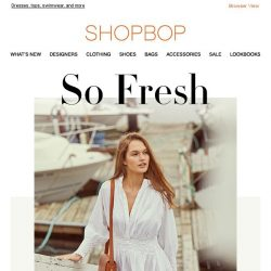 [Shopbop] Our rules for wearing white this summer