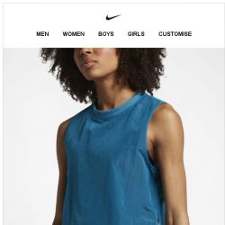 [Nike] Cool Off in Blue
