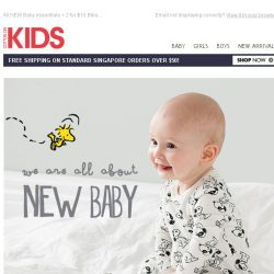 [Cotton On] Oh BABY! 2 for $20 Tees and Leggings!
