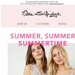 [Miss Selfridge] FREE express delivery! Ready, set, ☀️