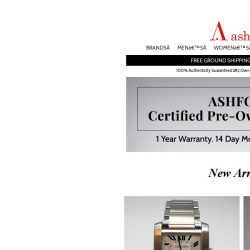 [Ashford] Certified Pre-Owned Watches - New Arrivals