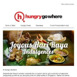 [HungryGoWhere] Usher in Hari Raya with Delectable Dining at Saltwater Café, Sarah's & more