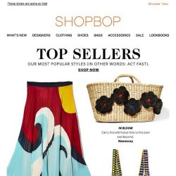 [Shopbop] Don't miss our Top Sellers!