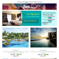 [Fave] Staycation codes await inside: It's our Raya weekend travel special!