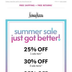 [Neiman Marcus] Up to 35% off! Try these outfit ideas & save