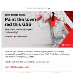[CIMB] Shop & win S$20,000 cash weekly with CIMB Credit Cards!