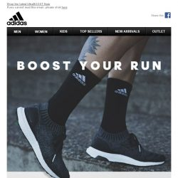 [Adidas] Boost Your Run, UltraBOOST Uncaged Out Now.