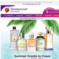 [StrawberryNet] ☀ Heat Things Up with a Sexy Summer Fragrance.